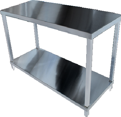 KSS 02-6  Bench with Shelf Underneath - Various Sizes