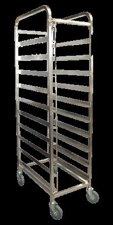 KSS 10 Tray Mobile Bakery Rack Trolley (16' x 29')