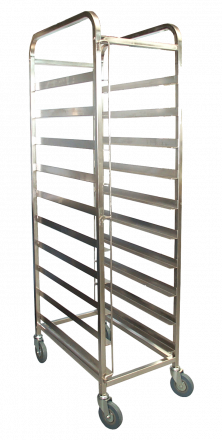 KSS 10 Tray Mobile Bakery Rack Trolley (18x29)