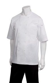 CW Montreal White Cool Vent Chef Jacket