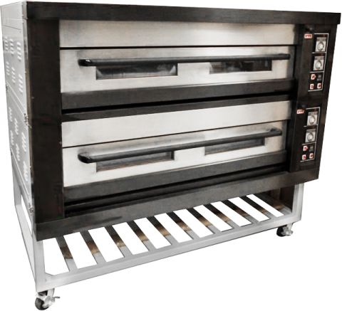 Amalfi Series Electric Two Deck Bakery Oven