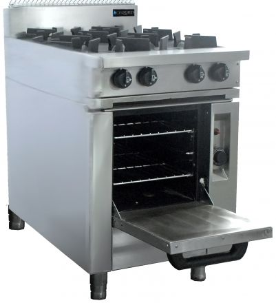 Oxford Series 4 Burner Cooktop w/ Gas Oven
