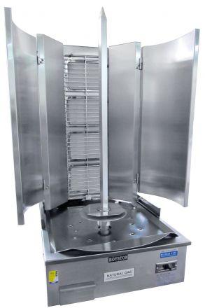 Royston 4 Burner Infrared Vertical Rotisserie - Swing Model