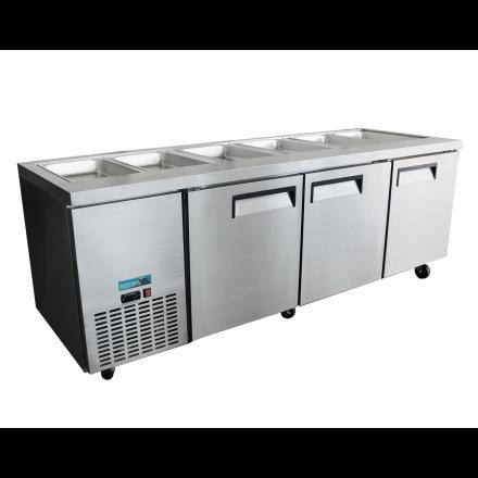 Mitchel Refrigeration 3 Door Noodle Bar