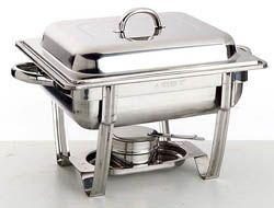 Sunnes Stackable Polished 18/10 S/S Half Size Includes 65Mm Steam Pan