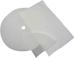 "11"" Fry Oil Filter Paper"