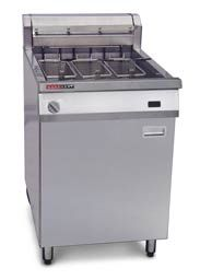 AustHeat AF813R 39 Litre Single Tank Electric Fryer (3 Baskets) - Rapid Recovery