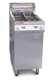 AustHeat AF822 28 Litre Double Tank Electric Fryer (2 Baskets)