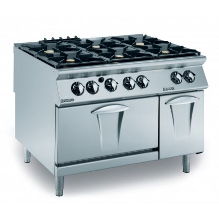 Mareno ANC9FG12G52 6 Burner Gas Cooktop with Gas Oven