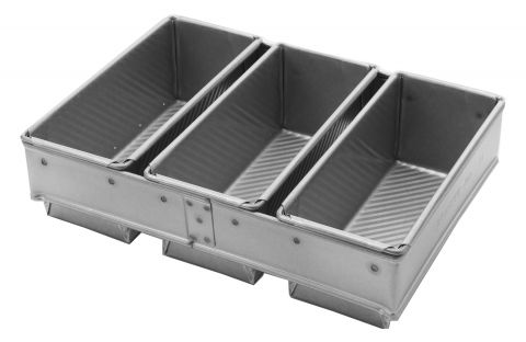 Grants Bakeware Bread Pans Set of Three 650/680g
