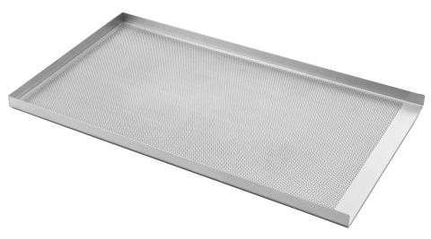 Grants Bakeware 3 sided pressed perforated Aluminium Tray 18""