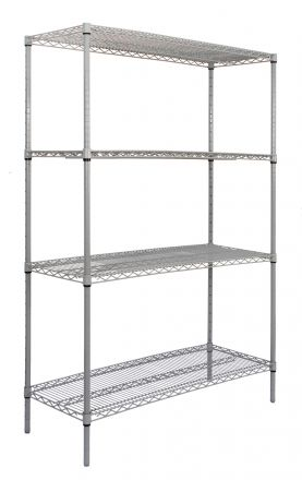 Titan Multipurpose Wire Shelving - 1370x355