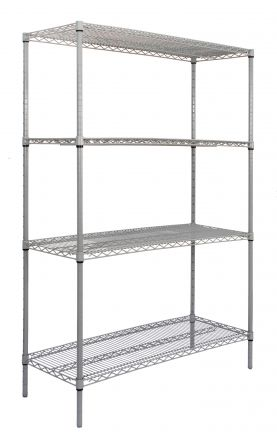 Titan Multipurpose Wire Shelving - 610x610
