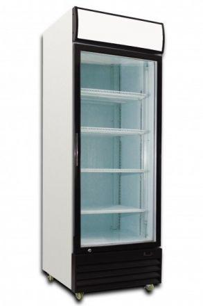 Saltas Single Glass Door Fridge - 380 Litre