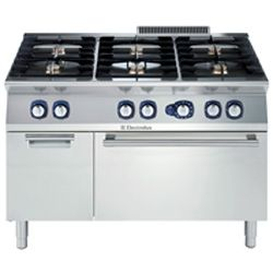 Electrolux E7GCGL6C1A 6 Burner Cooktop with Gas Oven