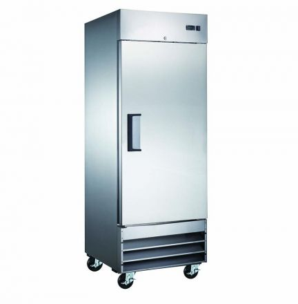 Mitchel Refrigeration Stainless Steel Single Door Freezer