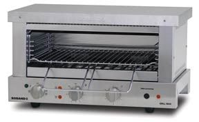 Roband GMW815E Wide Mouth Toaster Grill