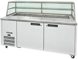 Williams 2 Door Sandwich & Prep Counter W/ Canopy