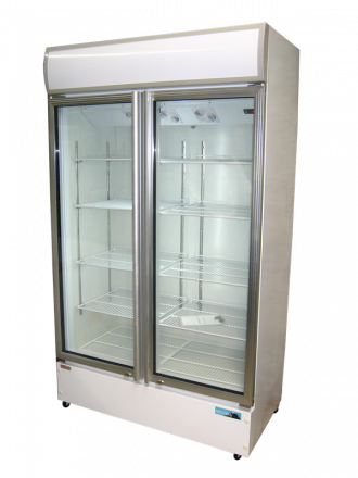 Mitchel LG freezer two glass door