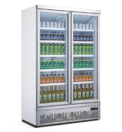 Mitchel 2 Door Glass Drinks Refrigerator