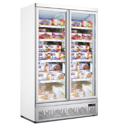 Mitchel 2 Door Glass Freezer