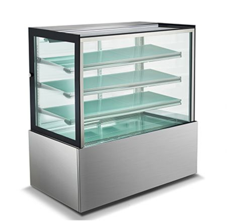 Mitchel Refrigeration 1200mm Straight Glass Cold Display - 4 Shelves