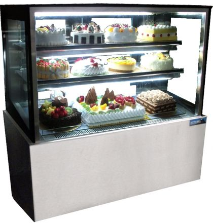 Mitchel Refrigeration 1500mm Straight Glass Cold Display