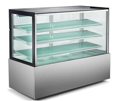 Mitchel Refrigeration 1800mm Straight Glass Cold Display - 4 Shelves
