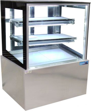 Mitchel Refrigeration 900mm Straight Glass Cold Display