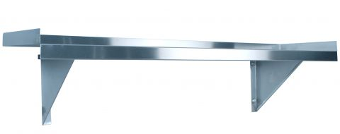 KSS 1200mm Solid Wall Shelf w/ Brackets