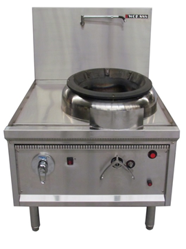 Oxford wok Single hole turbo jet waterless wok