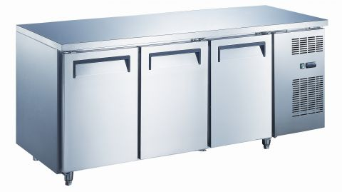 Mitchel Refrigeration 3 Door Undercounter Freezer