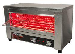 Woodson W.GTQI.8 8 Slice Glass Element Toaster