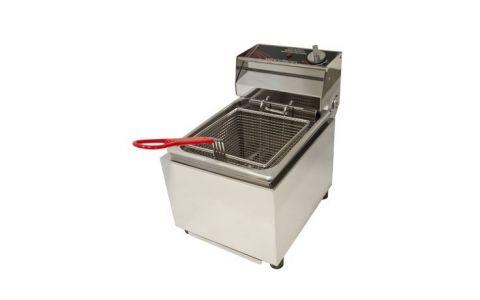 Woodson W.FRS80 Single Pan 8L Commercial Deep Fryer