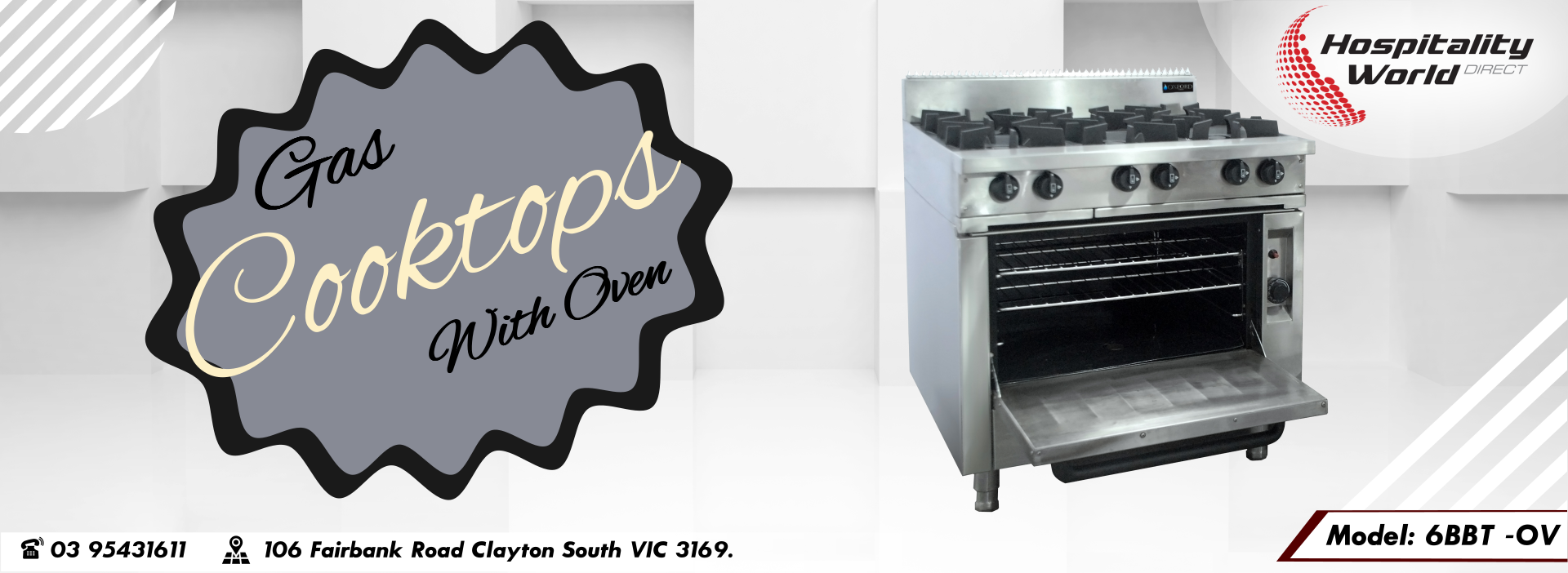 Gas Cooktop Ovens
